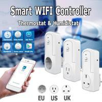واي فاي الذكية التحكم عن بعد اللاسلكية درجة الحرارة الرطوبة ترموستات وحدة التطبيق TS 5000 توقيت التبديل الذكية المقبس التحكم الذكي عن بعد الأجهزة الإلكترونية الاستهلاكية -