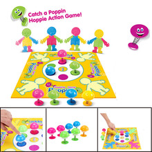 Parent-child Game Poppin Hoppie Action Puzzle Board Game Funny Toy Learning Educational Game Baby Toddler Toys for Children children s mini billiards game mini billiards concentrate interaction baby puzzle parent child training toy party game