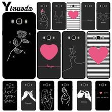 Yinuoda EXO kpop Heart Drawing Love on the finger Pull hook Phone Case For Samsung Galaxy j6plus j7 j8 j2 prime j4 plus Cases(China)