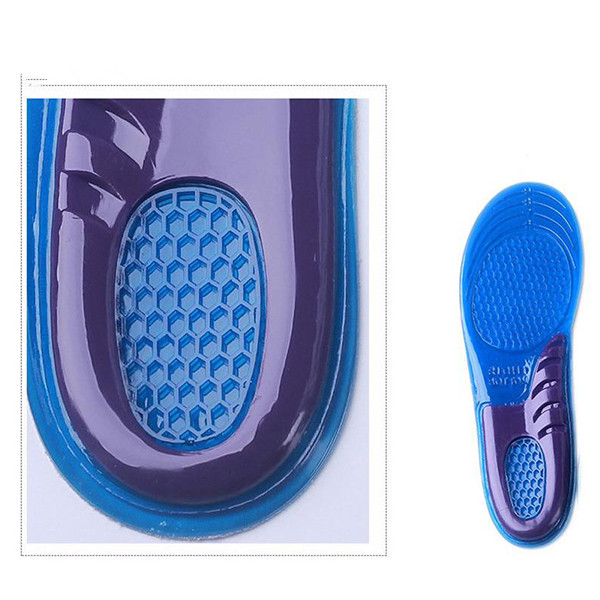 New Orthotic Arch Support Massaging Gel Insoles Woman(size6-9 ) & Man Running Shoe Insoles Insert Pad Arch Support Cushion