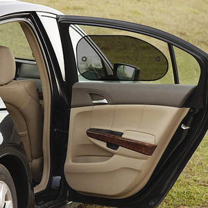 Image 4 - Car sunshade 2PCS car window sun shade auto sun visor rear window sun block sunscreen solar UV windshield sunshade
