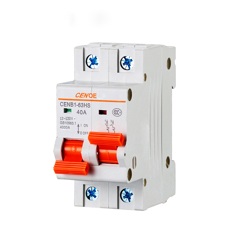interlocking type electrically driven vehicle 2P circuit breaker DC 120V 40A 50A 63A etc can access 2 group battery at same timeinterlocking type electrically driven vehicle 2P circuit breaker DC 120V 40A 50A 63A etc can access 2 group battery at same time