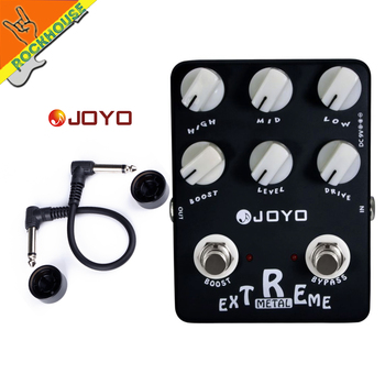 JOYO JF-17 Extreme Metal Distortion Guitar Effects Pedal high-gain Heavy Metal Guitar Pedal Stompbox 3 Bands EQ True Bypass JF35 moen compressor guitar effect pedal vol comp eq controls ture bypass stompbox for electric guitar