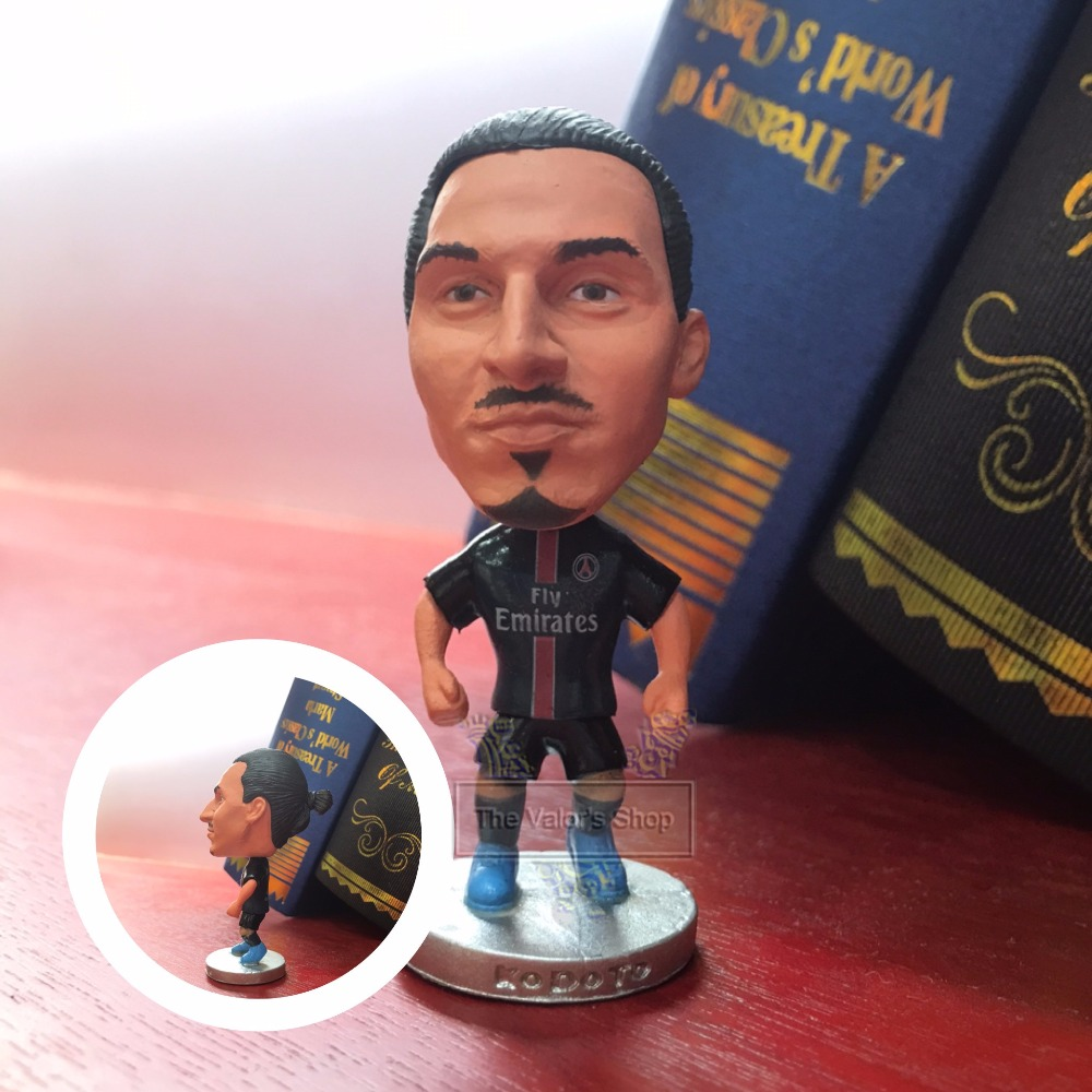 Soccer figurine sports stars Classic IBRAHIMOVI Movable joints resin model toy action figure dolls collectible boyfriend gift
