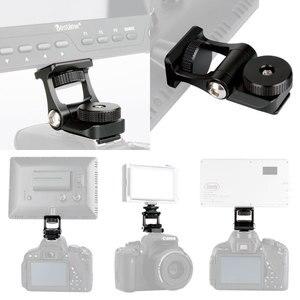 Image 3 - Universal Monitor Mount Holder for Feelworld F570 F6 Bestview S7 S5 180 Adjustable Rotation Camera Video Monitor Bracket Mount