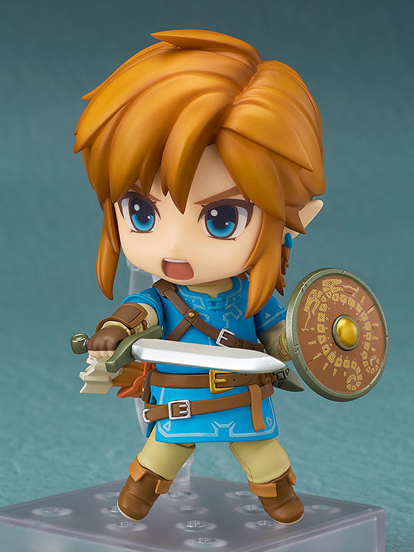 The Legend Of Zelda Link Nendoroid Action Figure  Breath Of The Wild PVC 100mm Model Toys Zelda Nendoroid Link