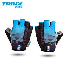 TRINX Half-Finger Cycling Gloves Anti-Slip Anti-Sweat MTB Road Bike Sport Breathable Anti-Shock Men Women