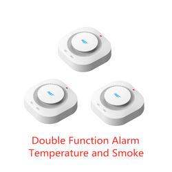 PGST 3 шт./лот 433 МГц беспроводной противопожарный сигнальный датчик дыма датчики для РЧ GSM PSTN офисные системы охранной сигнализации для дома