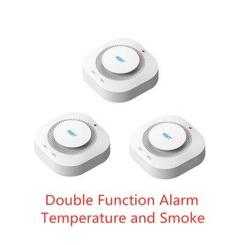 PGST 3 teile/los 433MHz Drahtlose Feuer Schutz Alarm Sensoren Für RF GSM PSTN büro home security Alarm Systeme
