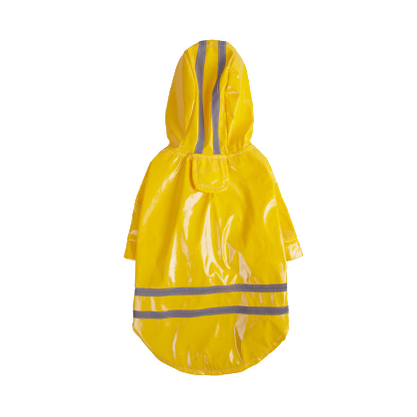 Summer Outdoor Puppy Pet Rain Coat S XL Hoody Waterproof Jackets PU Raincoat for Dogs Cats Apparel Clothes Wholesale in Dog Raincoats from Home Garden