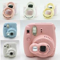 Novo espelho de selfie para fujifilm instax câmera mini 8 mini 7s mini 9 espelho de auto-retrato close-up lente selfie para câmera instantânea