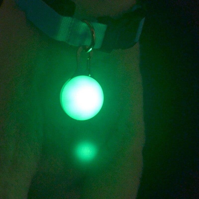 Dog LED Glowing Pendant Pet Necklace Pendant Puppy Cat Night Light Flashing Collar Pet Luminous Bright Glowing In Dark Necklace