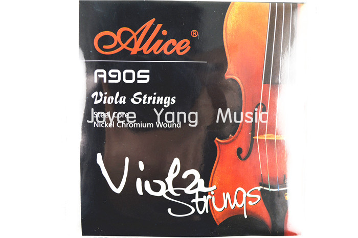 Alice A905 Nickel Chromium Wound Viola Strings Set Of 4 Strings Free Shipping