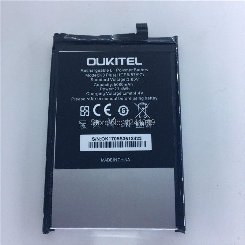 Handy batterie für OUKITEL K3 batterie 6000mAh Lange standby zeit Hohe capacit für OUKITEL Mobile Zubehör