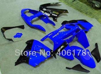 Cheap 98 99 ZX-9R Aftermarket Fairing set Fit For Ninja ZX9R 1998 1999 ZX 9R Blue Motorcycle race Fairing Kit