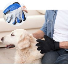 Pet Grooming Glove Cat Hair Removal Mitts Dog Brush Combs For Horse Massage cleaning Supplies