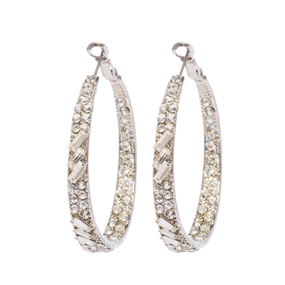 I Show Design Hoop Earrings Boucles D'oreilles Woman
