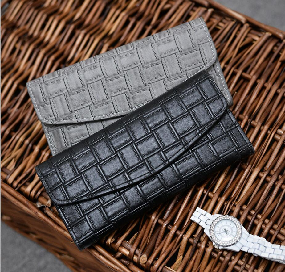 Women wallet portomonee Carteira Feminina carteras muje portfel female purse portfel damski minimalist ladies leather wallets