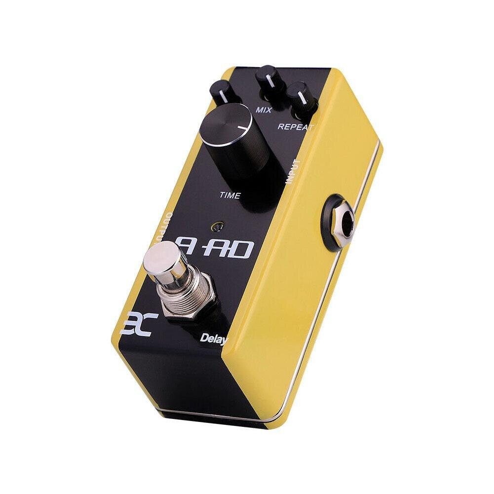 EX AAD bois guitare acoustique effets pédale retard modélisation simulateur Guitarra DC 9 V Mini effets pédale guitare accessoires