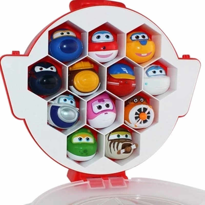 Best selling Super wings egg box Transformation Catapult Eggs Toy Mini Super Wing toys Action Figures for kids Toy