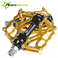 ROCKBROS High Quality Mountain Bike Pedals MTB Road Cycling Sealed Bearing Pedals BMX Ultra Light Bicycle
