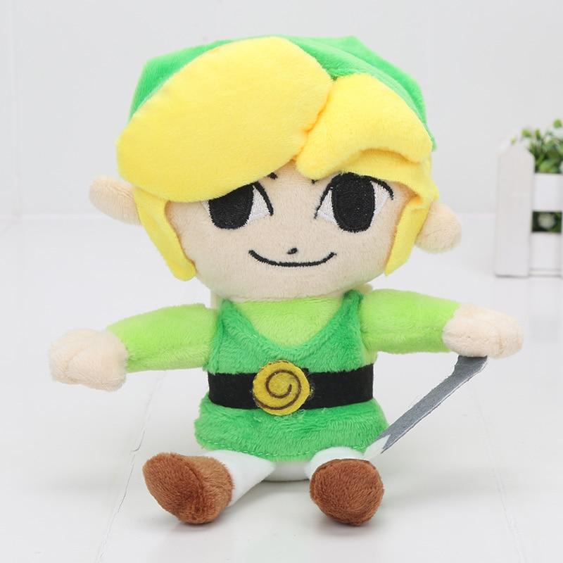 18cm Legend of Zelda Phantom Hourglass Plush Toy 7