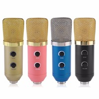 Professional MK F100TL USB Condenser Microphone With Tripod for Video Recording Karaoke Radio Studio Microphone for Computer PC