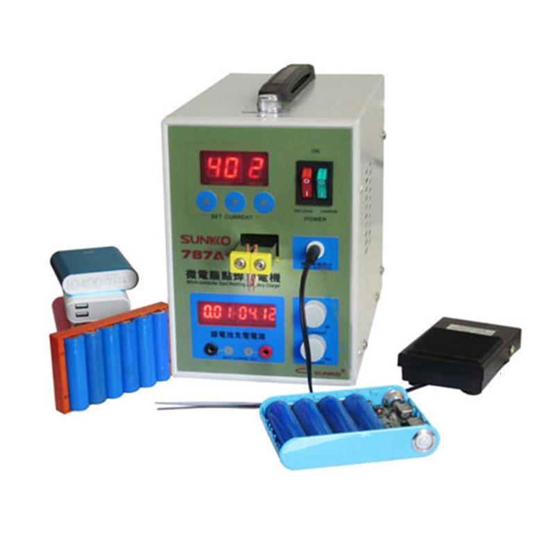 Microcomputer Dual Pulse Spot Welder Welding Machine/battery Welding Machine(machine +1Kg 0.1mm Thickness Nickel)|Spot Welders| |  - title=