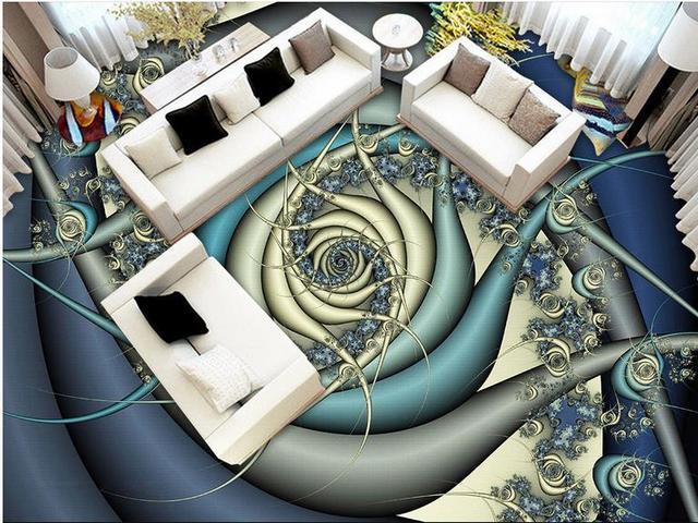 Mode 3d Boden Wandbild Tapete Abstrakte Textur 3d Bodenbelag Für  Einkaufszentrum Küche Wandbild Tapete 3d Boden