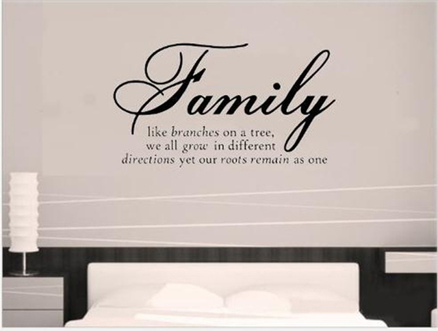 family like branches on a tree quotes and sayings wall decals