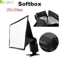 A alta qualidade caixa pariram difusores de flash softbox flash de 20x30mm medição