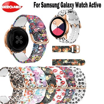 Silicone sport watch band For Galaxy watch active smart watch strap For Samsung Galaxy 42mm Gear S2 watch Replacement Bracelet sport soft silicone bracelet wrist band for samsung galaxy watch 42mm sm r810 replacement smart watch strap wristband watchband