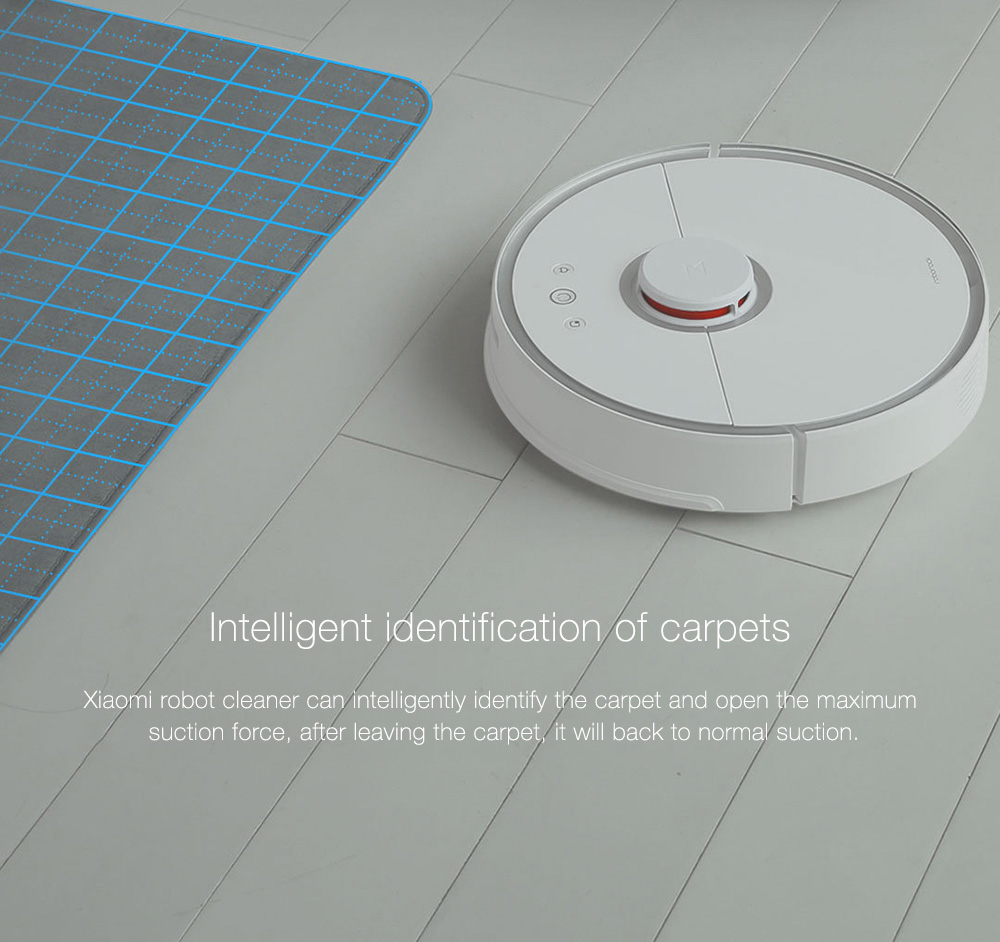 INTERNATIONAL VERSION XIAOMI MIJIA ROBOROCK VACUUM CLEANER 2 AUTOMATIC AREA CLEANING 2000PA SUCTION 2 IN 1 SWEEPING MOPPING FUNCTION 256393 16