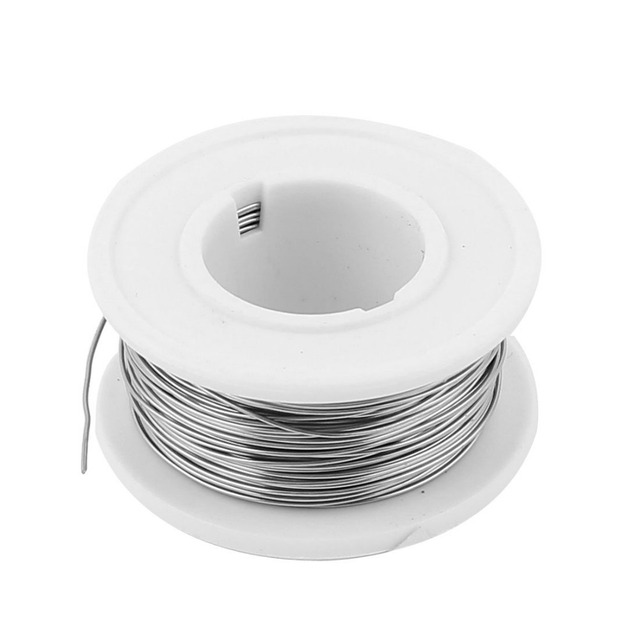 Nichrom 80 Runde Draht 0,5mm 24 Gauge AWG 82.02ft Rolle 5.551Ohm/m ...