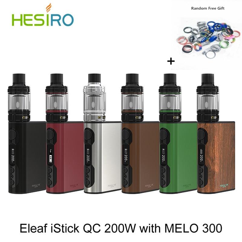2017 Original iStick QC 200W Kit with MELO 300 tank 5000mAh VW/TC Powerful ES coils 0.17ohm Electronic Cigarette Kit + Free Gift