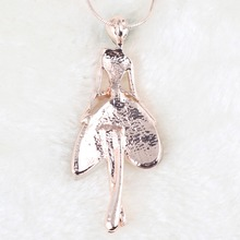 Angel Fairy Necklace Opal Pendant Figure Cat Eye Crystal Chain
