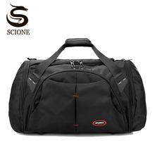 Large Capacity Men Travel Bag Waterproof Male Bags Fashion Duffle Handbag Mens Big Luggage Business Bag Solid Black Duffel Bags