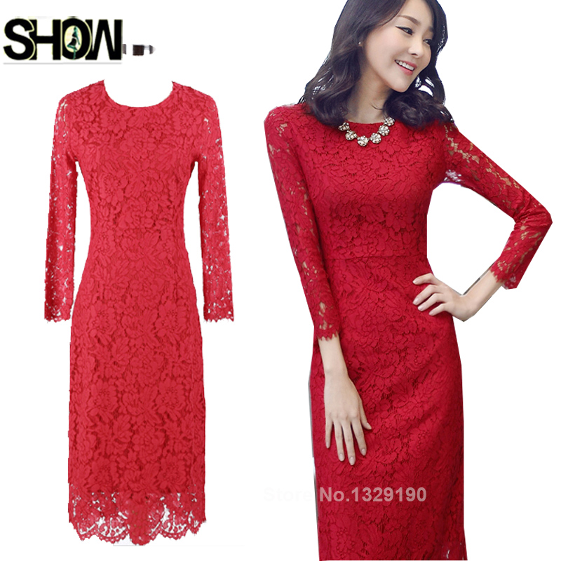 Compare Prices on Winter Red Dress- Online Shopping/Buy Low Price ...