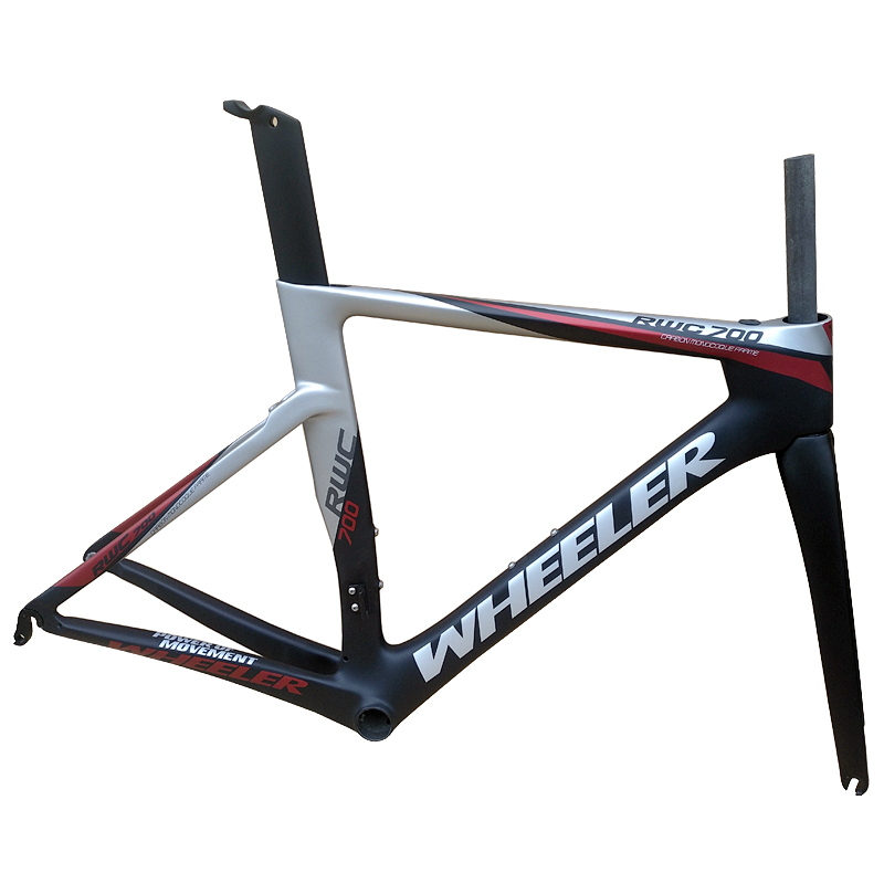 2019 New Carbon Road Frame Full Carbon Bicycle Frame T1100 UD Carbon Road Bike Frame XS/S/M/L