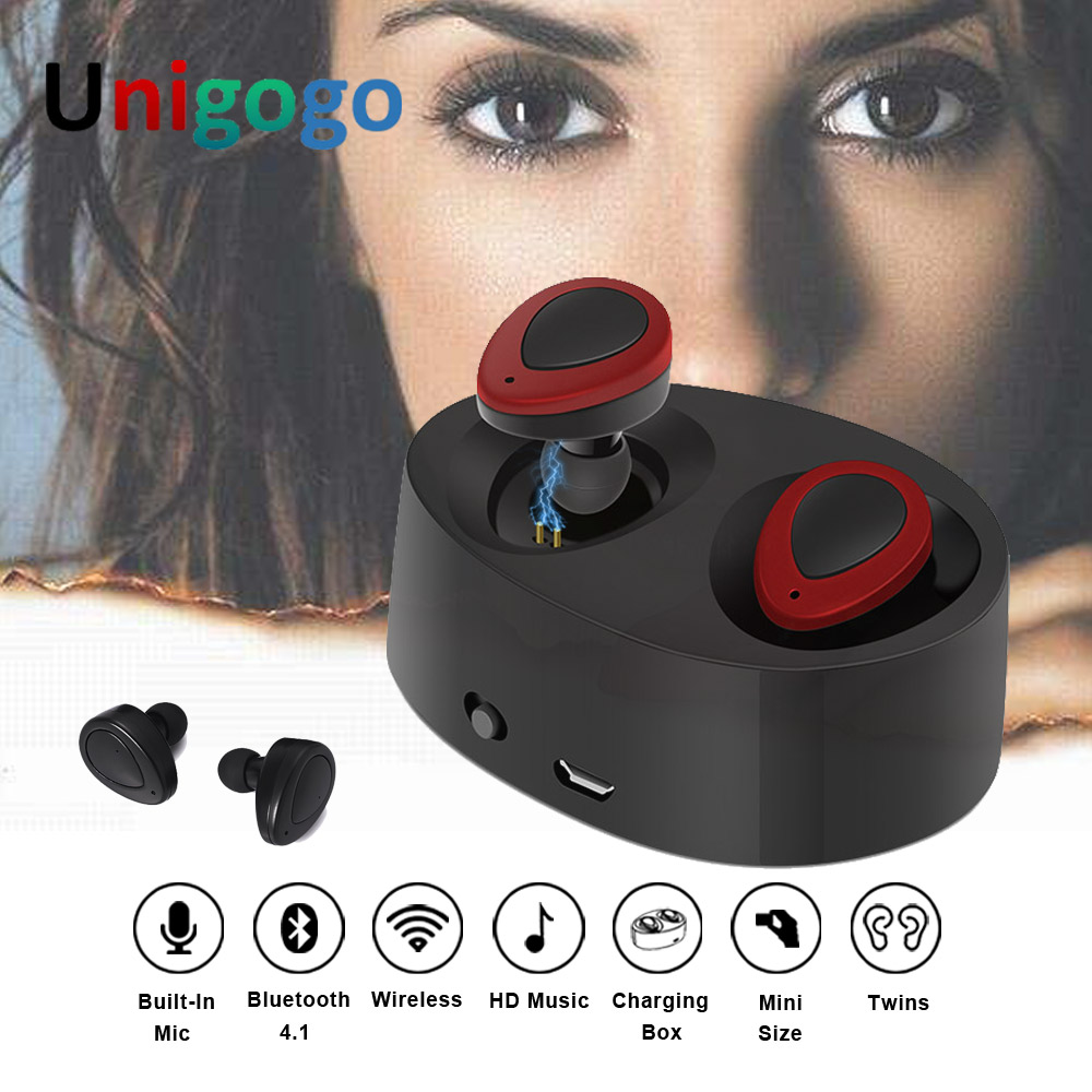 Original K2 True Wireless Bluetooth Earphones TWS Earbuds Mini Stereo music Headset Handsfree with Mic For iPhone Xiaomi huawei
