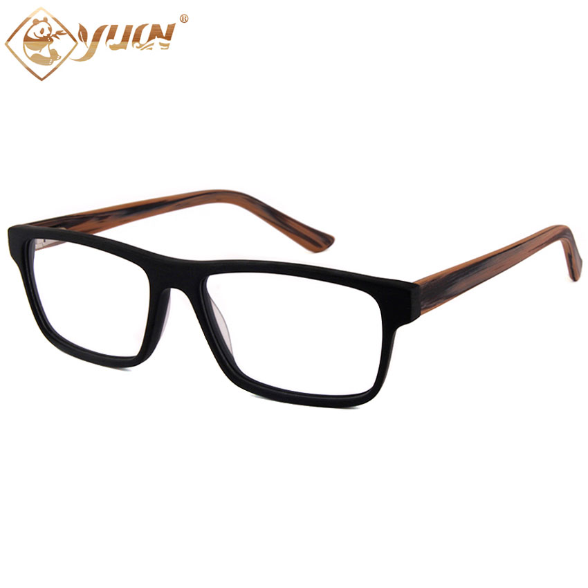 High quality acetate glasses fashion 2017 lunette de vue femme homme retro  clear lens glasses frame F205-in Eyewear Frames from Apparel Accessories on  ... 68152fa3ad1d