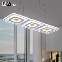 Bwart исследование офис современный светодиодный Потолочный подвесной светильник подвесной подвесные светильники висит светильник домашне