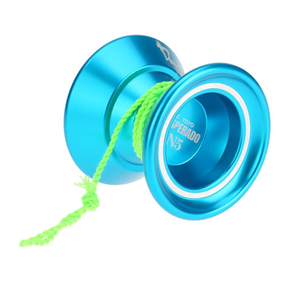 Goolsky Professional Magic Yoyo K1 Spin Aluminum Alloy Metal Yoyo 8 Ball KK Bearing with Spinning String for Kids