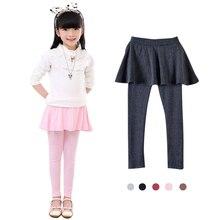 лучшая цена New Arrive Spring Retail girl legging Girls Skirt-pants Cake skirt  girl baby pants kids leggings Skirt-pants Cake skirt Q2305