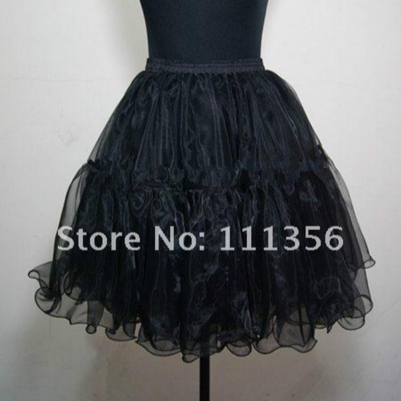Черная Свадебная юбка 50 s винтажная Нижняя юбка/рок-н-ролл пачка/вычурная юбка/юбка для выпускного вечера
