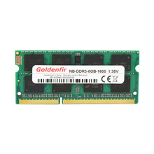 Goldenfir DDR3 2GB/4GB 1066MHz 1333MHz 1600MHz PC3-8500 PC3-10600 PC3-12800 SODIMM Memory Ram memoria ram For Laptop Notebook(China)