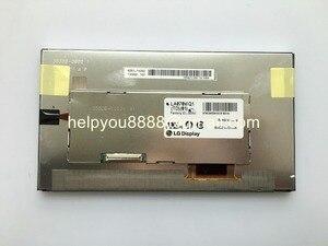 Free shipping 100% Original 7inch LA070WQ1(TD)(01)/ LA070WQ1-TD01 LCD display For Mercedes-benz Buickk OPEL Bosh GPS NAVI(China)