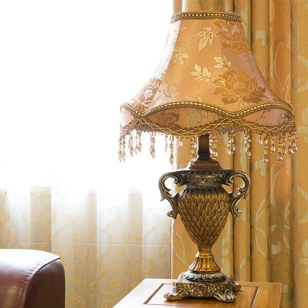 Высокая Quanlity резные анютины глазки современная мода спальни украшение стола света настольные лампы для гостиной