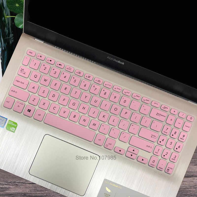Funda protectora de teclado de silicona de 15,6 pulgadas para ASUS viviobook S15-S5300U/F S530 X530 Y5100UB UN FN S5300UN8550 8250
