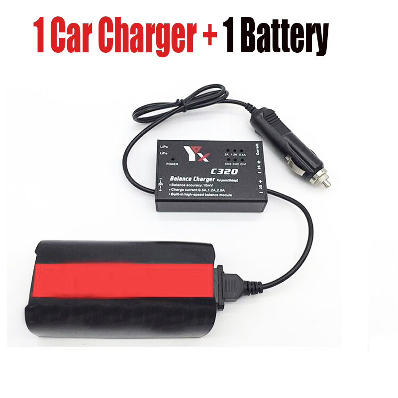 For Parrot Bebop 2 Drone Battery Car Charger 12 6V 2A Quick Battery Charging For Parrot